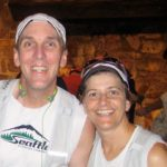 Chris and Marty following an ultra marathon